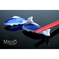 Japanese Carp fish KOI porcelain Chopstick Rest