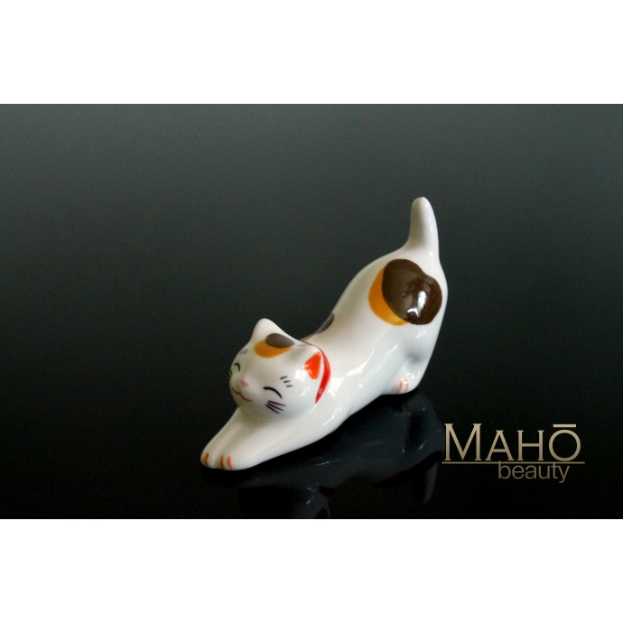 Japanese Maneki neko porcelain Chopstick Rest