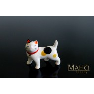 Japanese Maneki neko porcelain Chopstick Rest Mike