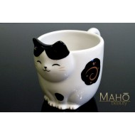 Adorable Japanese style coffee/tea cup mug Maneki neko fortune cat