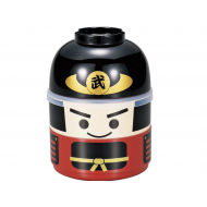 Hakoya Japanese lunch bento box Samurai Kokeshi