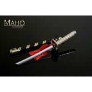 Miniature Japanese Samurai sword Accessory Katana Letter Opener with a key ring