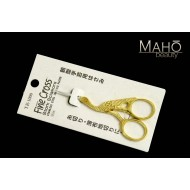 Elegant Japanese NIKKEN Gold plated CRANE bird SHAPED CRAFT stainless steel SCISSORS