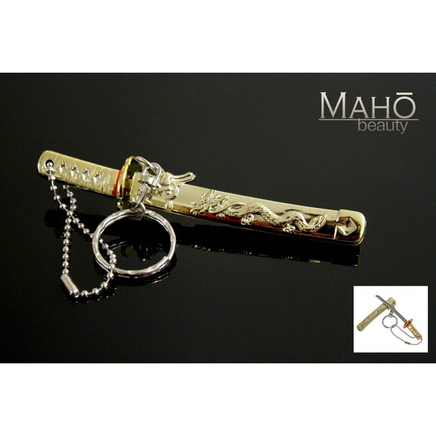 Miniature Japanese Samurai Sword Katana With A Key Ring