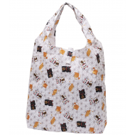Japanese style extra Strong Reusable Shopping Totte Bag Maneki Neko