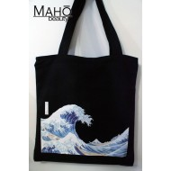 Hokusai The Great Wave Reusable Shopping Bag