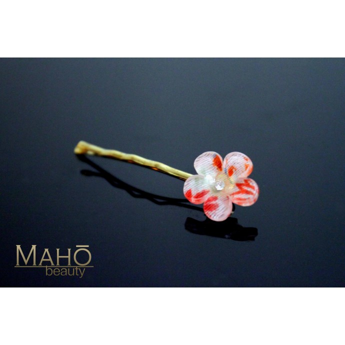 Cherry flower Japanese Kimono Pattern Hair pin Sakura small pink