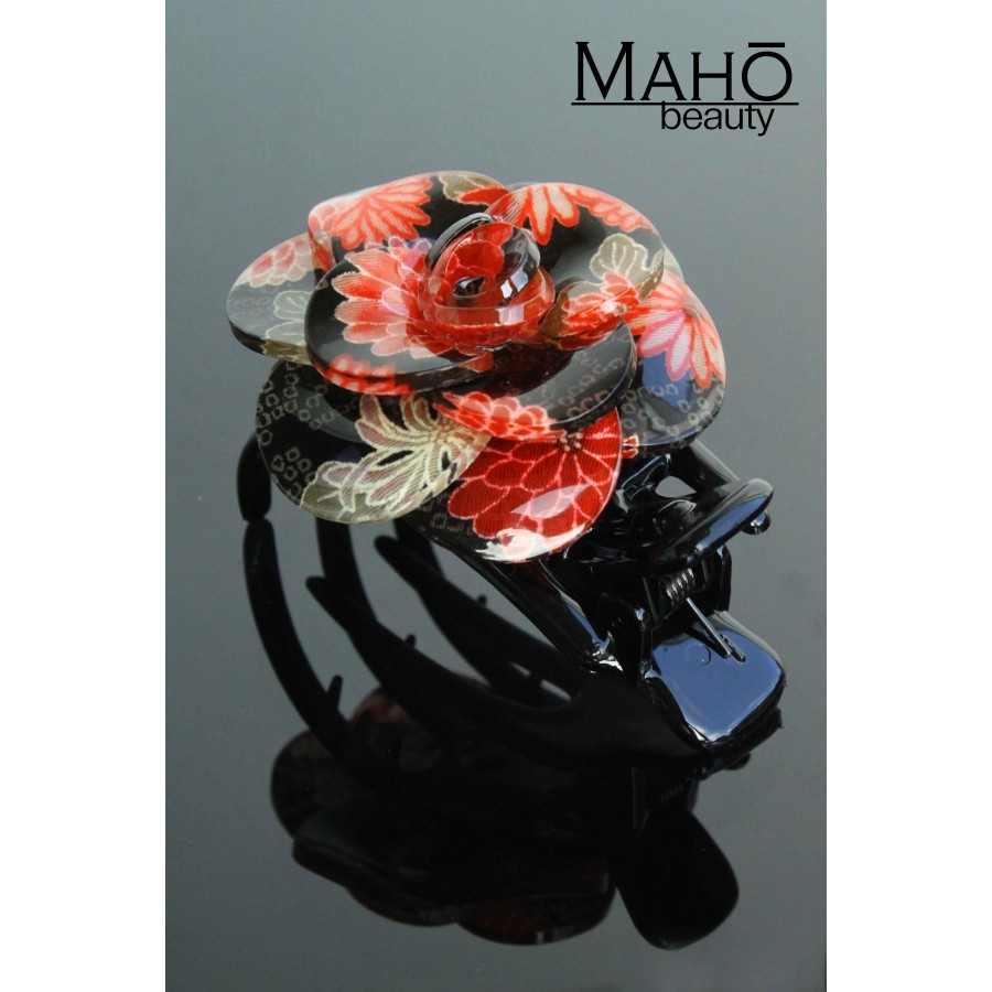 Japanese Hair Accessory Ornamental Hair Clip Glamorous