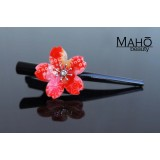 "Cute JAPANESE hair accessory – ornamental hair clip: ""Cherry blossom"""