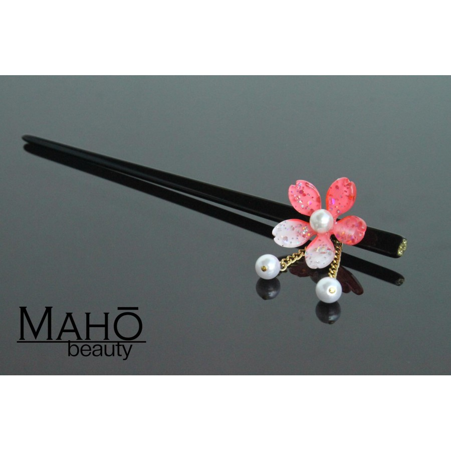 Japanese Hair Accessory Kanzashi Hairpin Sakura Cherry