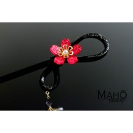 JAPANESE KANZASHI HAIRPIN: Sakura cherry tree pink ピンク