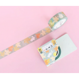 Maple and Rabbits Washi Masking Tape Craft Sticker Momiji Usagi 7m