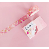 Cherry and Rabbits Washi Masking Tape Craft Sticker Sakura Usagi 7m