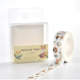 Fox Washi Masking Tape Craft Sticker Kitsune Summer Dandelion 10m