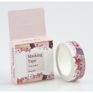 Kawaii Washi Masking Tape Craft Sticker Japanese NEKO Cats 10m
