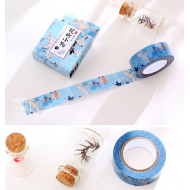Kawaii Washi Masking Tape Craft Sticker Japanese Birds 10m