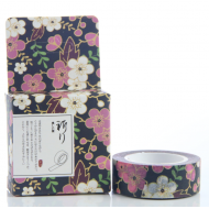 Kawaii Washi Masking Tape Craft Sticker Japanese Plum UME