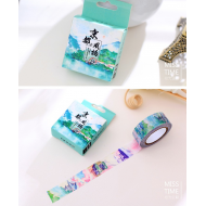 Kawaii Washi Masking Tape Craft Sticker Japanese mountain 10m