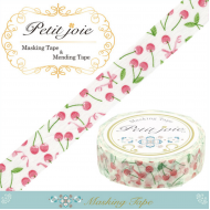 18m Washi Masking Tape Craft Sticker cherry チェリー