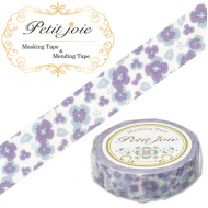 18m Washi Masking Tape Craft Sticker Sumire すみれ violet