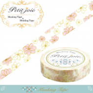 18m Washi Masking Tape Craft Sticker pastel flowers Hana