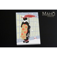 Cute Japanese style Memo Pads Umbrella Geisha