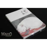 "Cute Japanese style notebook ""Shiro NEKO"""