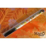 Akashiya Koto-Japanese Brush Pen With Beautiful Patterns - White