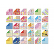 Japanese washi chiyogami double sided origami folding paper 30 sheets