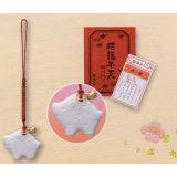 Lovely 2019 new year charm BUTA - Japanese fortune talisman Boar Piggy
