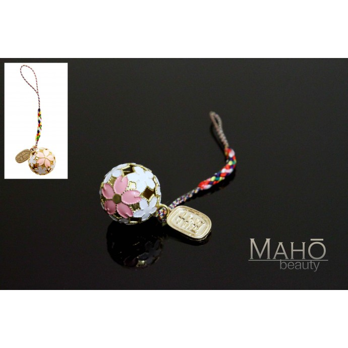 Charming Japanese style Cherry blossom mascot charm accessory
