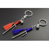 Jitte Jutte 十手 Japanese Samurai weapon ninja jutsu keychain accessory