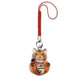 Cute good luck charm TORA Tiger netsuke mascot zodiac 虎