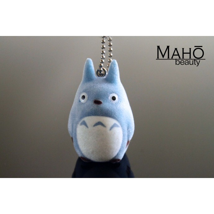 Adorable Ghibli My Neighbor Totoro Charm Doll Cell Phone Strap Keychain (Chu Totoro) Blue