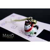 Lovely charm Inu Hariko - Japanese fortune talisman dog engimono