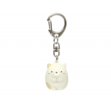 Japanese Sumikko Gurashi character Neko Cat charm key holder