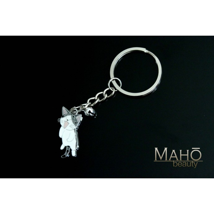 Japanese Anime Neko Cat Chi's Sweet Home Metal Keychain M size