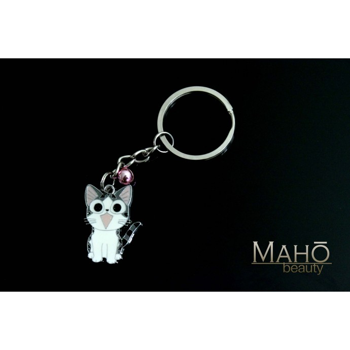 Japanese Anime Neko Cat Chi's Sweet Home Metal Keychain