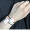 Beautiful Fushimi Inari Fox JAPANESE hair band gum Kitsune white