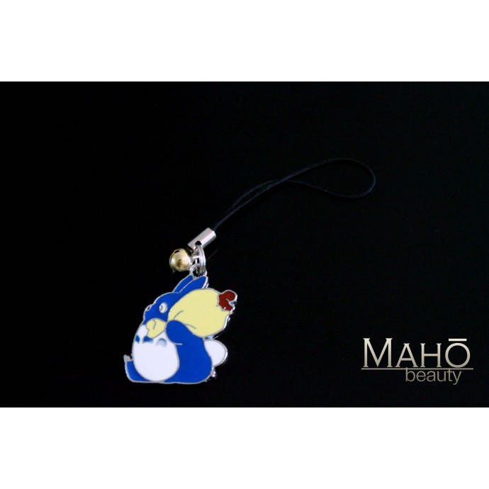 Adorable Ghibli My Neighbor Totoro metal Charm Cell Phone Strap Keychain
