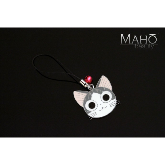 Japanese Animation Neko Cat Chi's Sweet Home Metal Mobile charm/Keychain