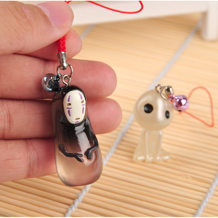 Japanese Charm Cell Phone Strap Spirited Away Faceless