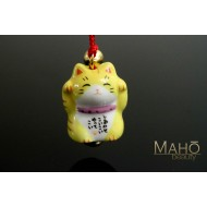 Cute good luck charm Maneki Neko - Japanese fortune cat tiger tora