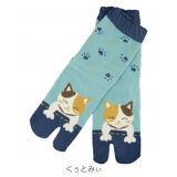 Japanese Kurochiku brand TABI SOCKS Kitty 22 – 25 cm