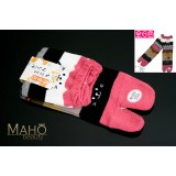 Cute MADE IN JAPAN TABI SOCKS: NEKO cat 22 – 25 cm pink