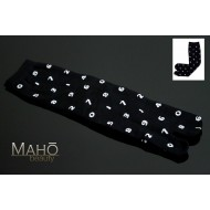 Japanese TABI toe SOCKS 22 – 25 cm Numbers Black