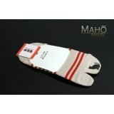 Invisible Japanese style Tabi peep socks: Cat 22-24 cm beige