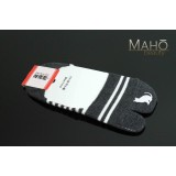 Invisible Japanese style Tabi peep socks: Cat 22-24 cm dark grey