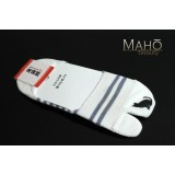 Invisible Japanese style Tabi peep socks: Cat 22-24 cm white