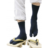 Cool Made in Japan Sport Daily Tabi socks: Blue 24-27cm 紺